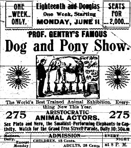Prof Gentry S Famous Dog Pony Show